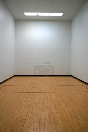 Photo for Empty Racquetball Court - Royalty Free Image