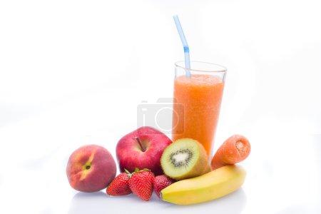 Fruit smoothies shakes