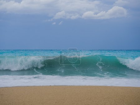 Photo for Storm seascape in the Ionian sea - Royalty Free Image