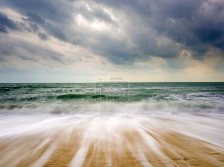 Photo for The Indian ocean on  a stormy day - Royalty Free Image