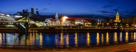 Kiev Railway Station and Moscow City
