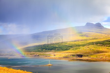 Rainbows over Westfjords