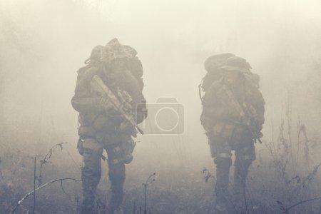Group of jagdkommando soldiers Austrian special fo...