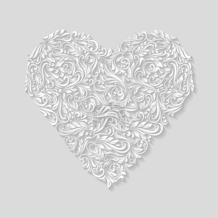 Decorative heart of ornament