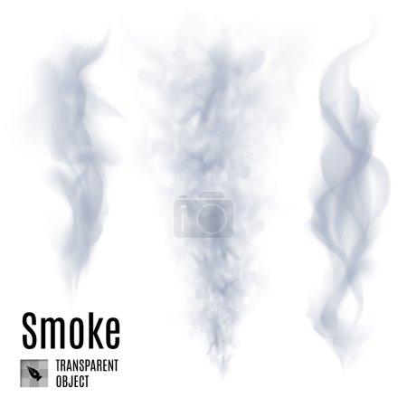 Set of transparent smoke