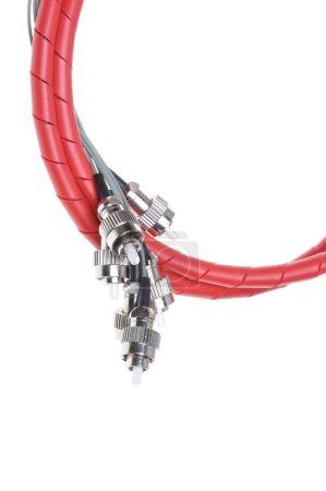 Telecommunication fiber optical patch cords fc