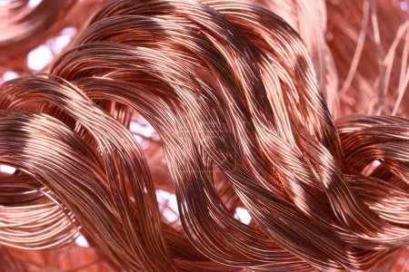 Copper wire, industrial raw materials
