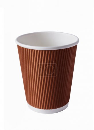 Photo for Brown Paper Cup close up - Royalty Free Image