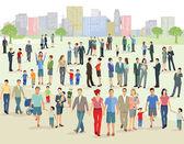 Dav na velké náměstí