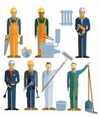 seven craftsmen artisans