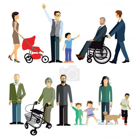 Family generations,  disability