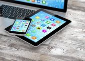 Notebook, telefon a tablet pc