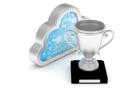cup with cloud icon