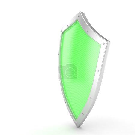 green 3d shield icon
