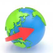 Šipky a země světa