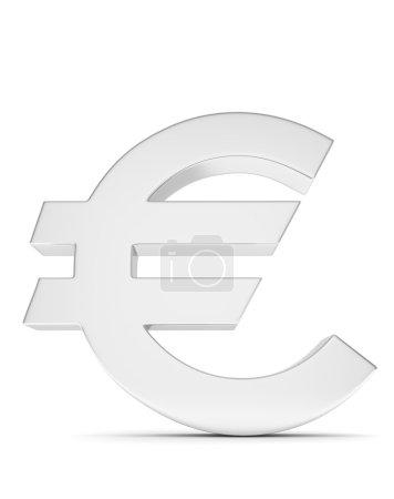 3d euro sign
