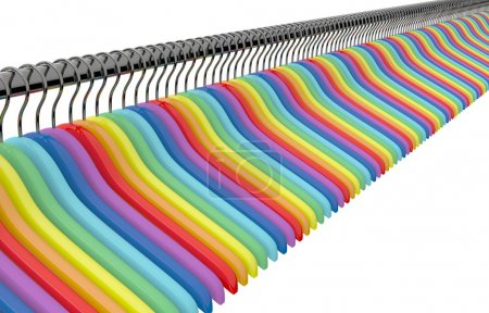 color  hangers