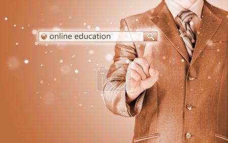 Online education written