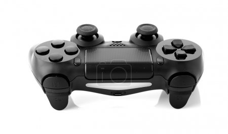 Photo for Video game controller isolated on white background - Royalty Free Image