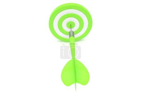 3d dart in target