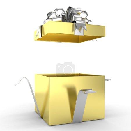ouvrir la boîte de cadeau