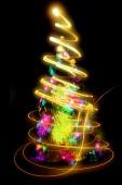 Vánoční strom od světel