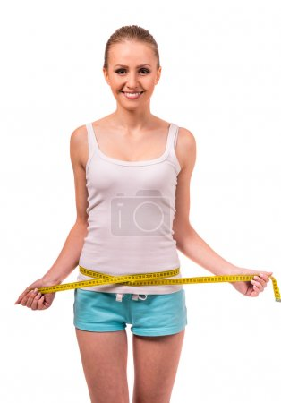 Girl health and fitness