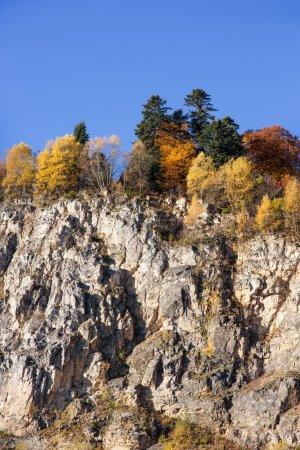 Autumn landscape in the mountains of Lago-Naki