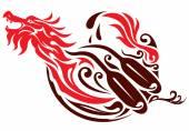 Dragon graphic icon design
