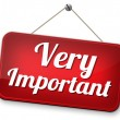 Important info very crucial message essential and ...