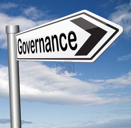 Governance sign
