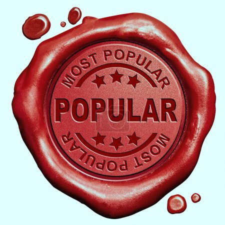 Photo pour Le plus populaire dans la nouvelle tendance et la tendance de la demande voulue maintenant best-seller rouge sceau timbre bouton - image libre de droit