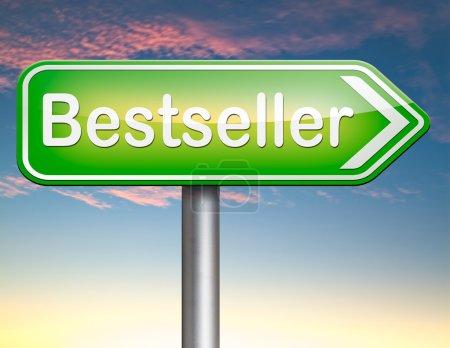 Photo pour Produit haut de gamme Best-seller, plus recherchés point livre best-seller et l'article le plus populaire - image libre de droit