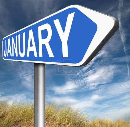 January first month of next year