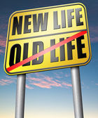 new or old life fresh new start
