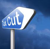 Daňové škrty dopravní značka