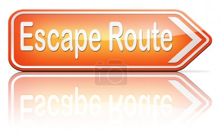 escape route avoid stress