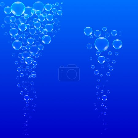 bubbles with Light rays