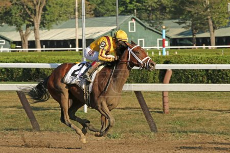 Rachel's Valentina Wins The Spinaway Stakes