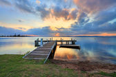 Sunset at Belmont, Lake Macquarie, NSW Australia