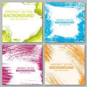Four color backgrounds