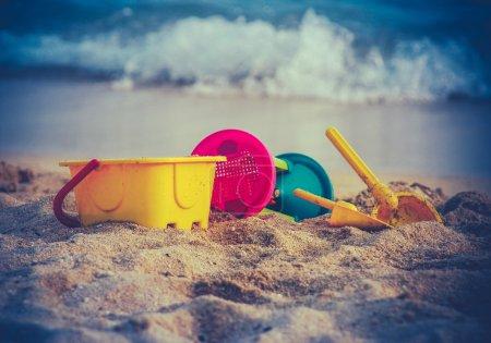 Retro Childrens Beach Toys