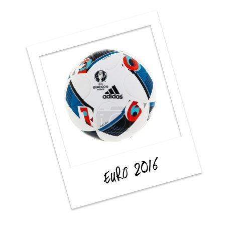 Polaroid Photo Euro 2016 Football