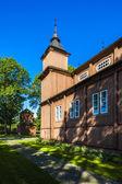 Wooden Catholic church in Narew, Podlaskie Voivodeship