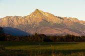 Berg krivan, vysoke tatry (hohe tatra), slowakei