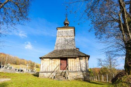 Wooden church, Prikra