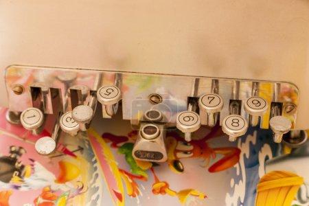 Photo pour Détail d'une échelle à l'hôpital maternel - image libre de droit