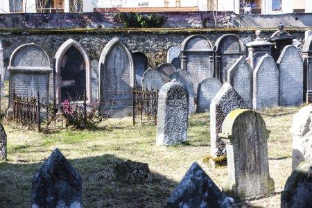 Jewish cemetery, Hermanuv Mestec, Czech Republic