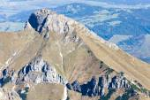 Blick vom Lomnicky Spitze, Vysoke Tatry (Hohe Tatra), Slowakei