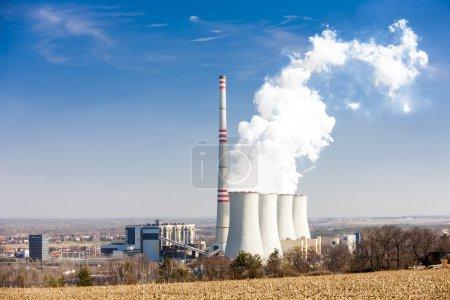 Foto de Planta de energía, República Checa - Imagen libre de derechos